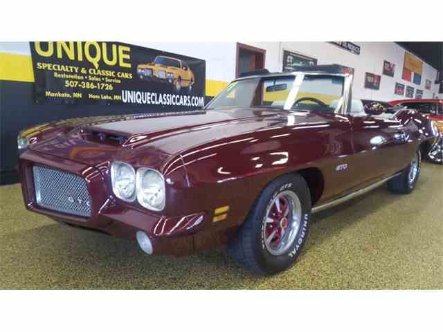 Picture of 1971 GTO - $33,900.00 Offered by  - N623