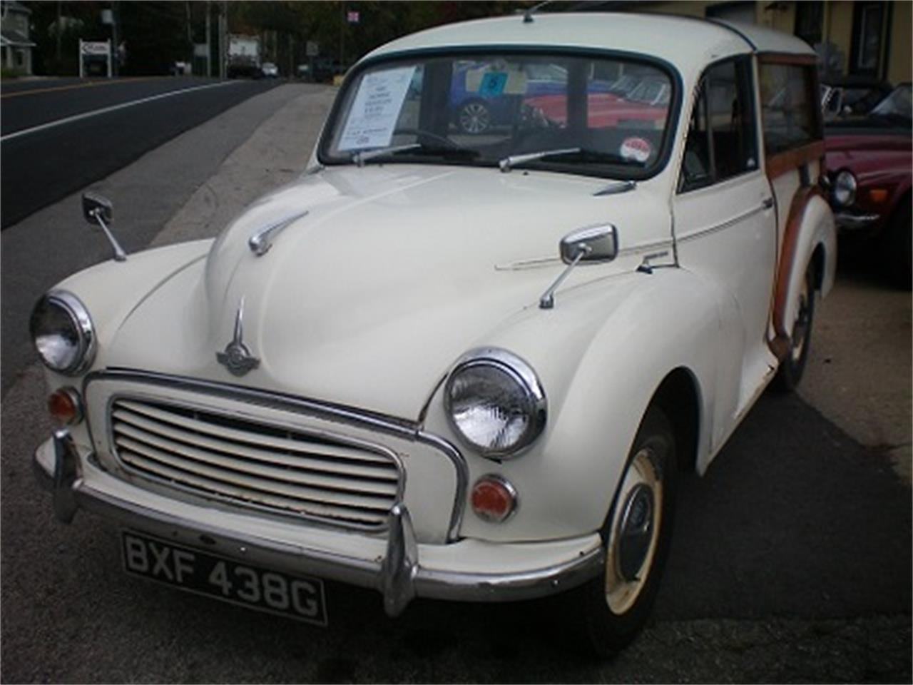 Large Picture of 1968 Morris Minor 1000 2Dr Traveler located in Rye New Hampshire - N625