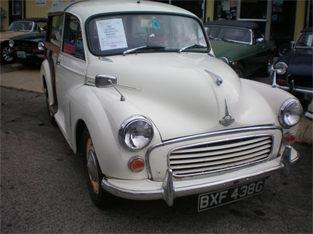 Large Picture of 1968 Minor 1000 2Dr Traveler - N625