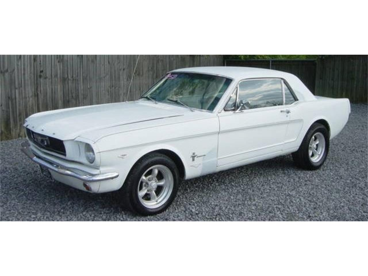 Large Picture of '66 Mustang - NCQN