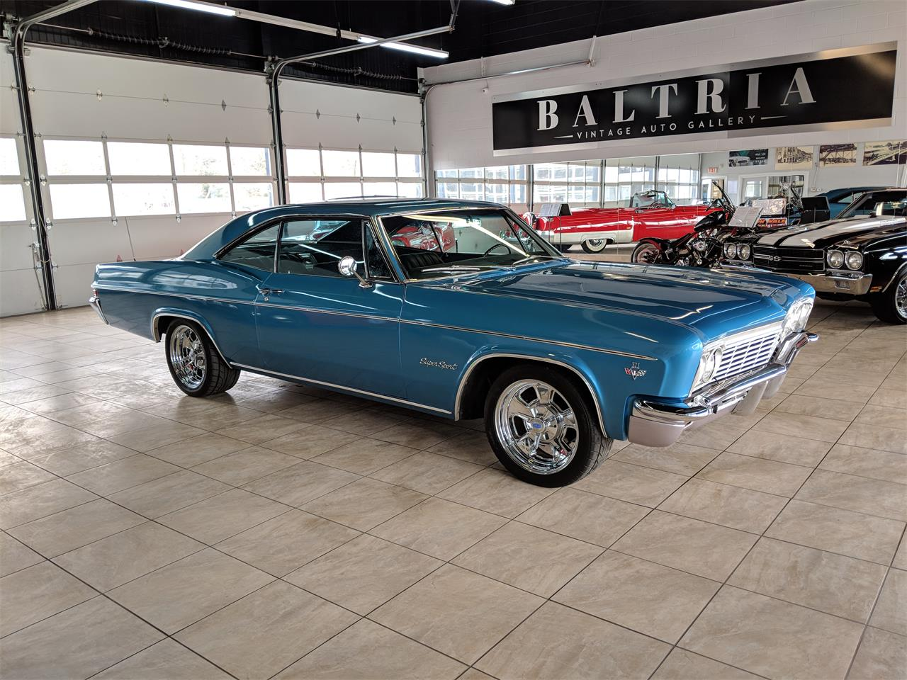 Large Picture of Classic 1966 Impala SS located in Saint Charles Illinois - $32,900.00 Offered by Baltria Vintage Auto Gallery - N62W