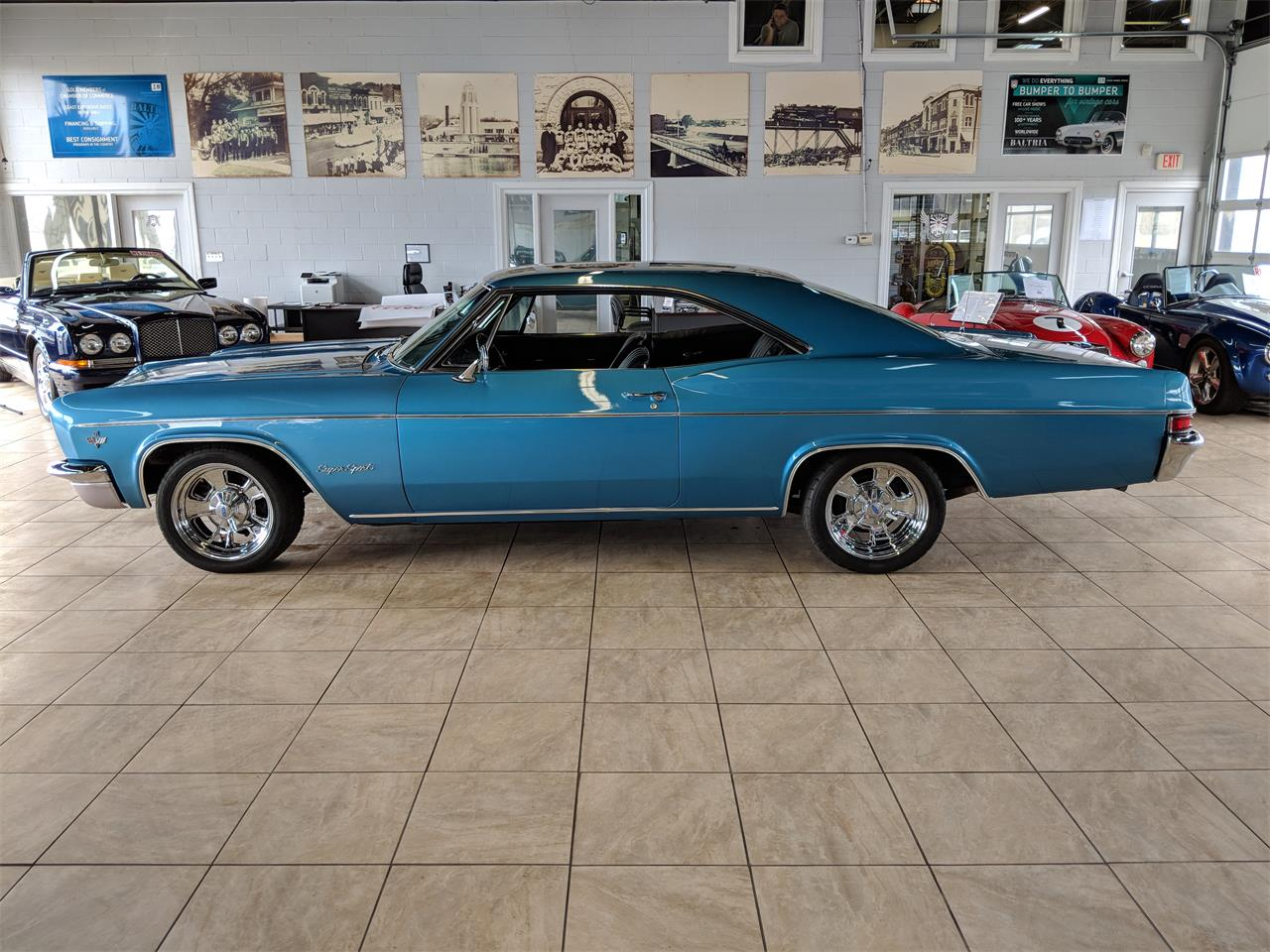 Large Picture of '66 Chevrolet Impala SS Offered by Baltria Vintage Auto Gallery - N62W