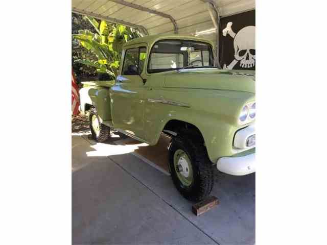 Picture of Classic 1958 Truck located in Cadillac Michigan - $59,900.00 Offered by  - NCUU