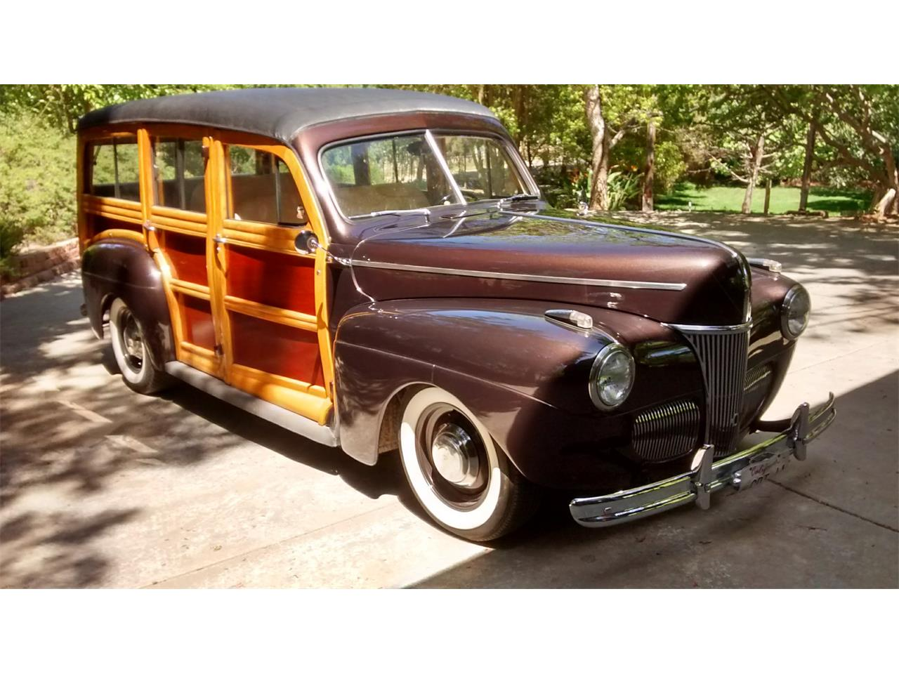 1941 Ford Woody Wagon Station Large Picture Of 1280x960