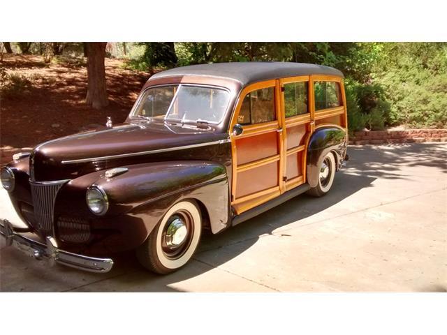 1941 Ford Woody Wagon