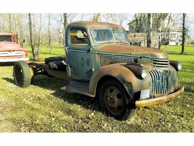 Picture of Classic '46 Chevrolet 1 Ton Dually located in Thief River Falls Minnesota Offered by  - NE33