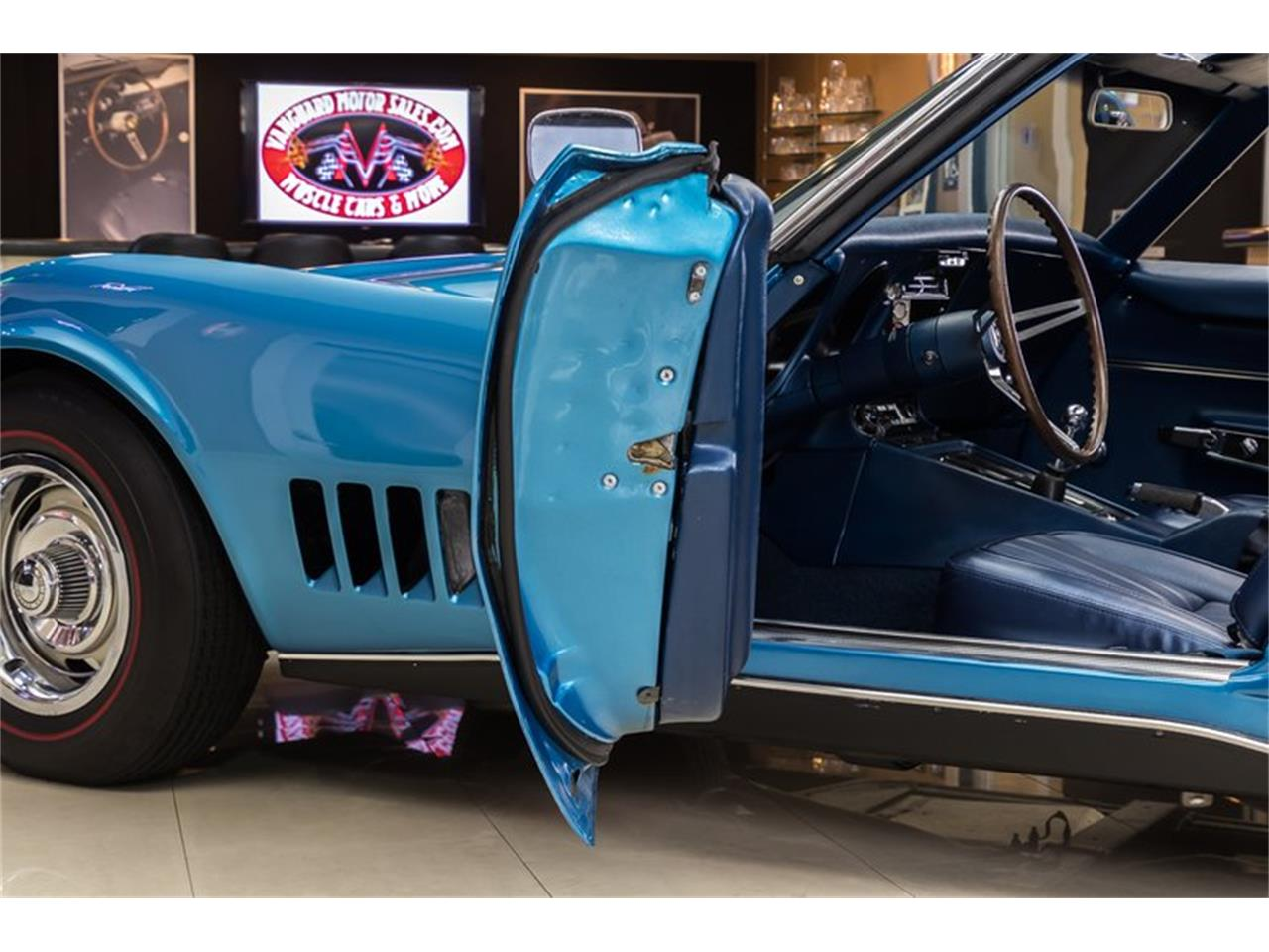 Large Picture of '68 Chevrolet Corvette located in Plymouth Michigan Offered by Vanguard Motor Sales - NE3R