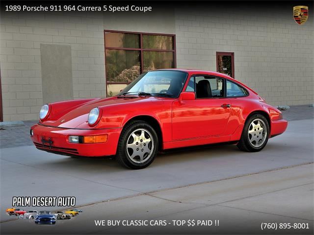 Picture of 1989 Porsche 964 Carrera located in Palm Desert  California - $57,950.00 Offered by  - NEEC