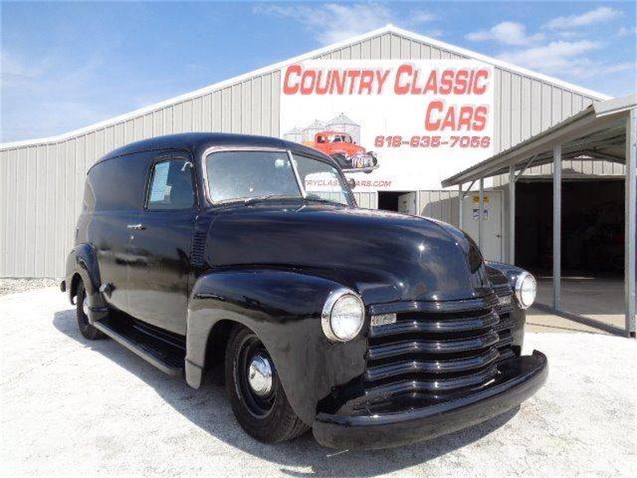1948 chevrolet panel truck for sale cc 1091790. Black Bedroom Furniture Sets. Home Design Ideas