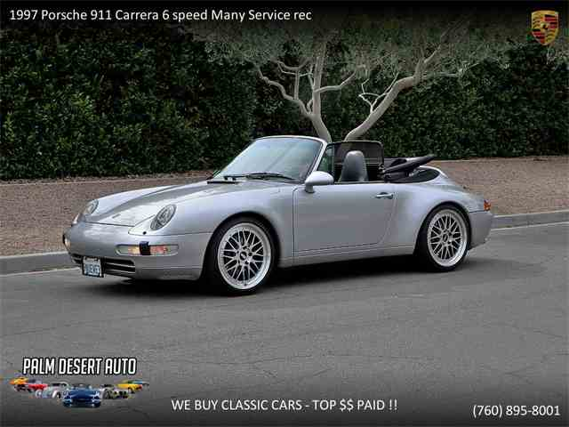 Picture of '97 Porsche 911 Carrera located in Palm Desert  California - $39,950.00 Offered by  - NEFK