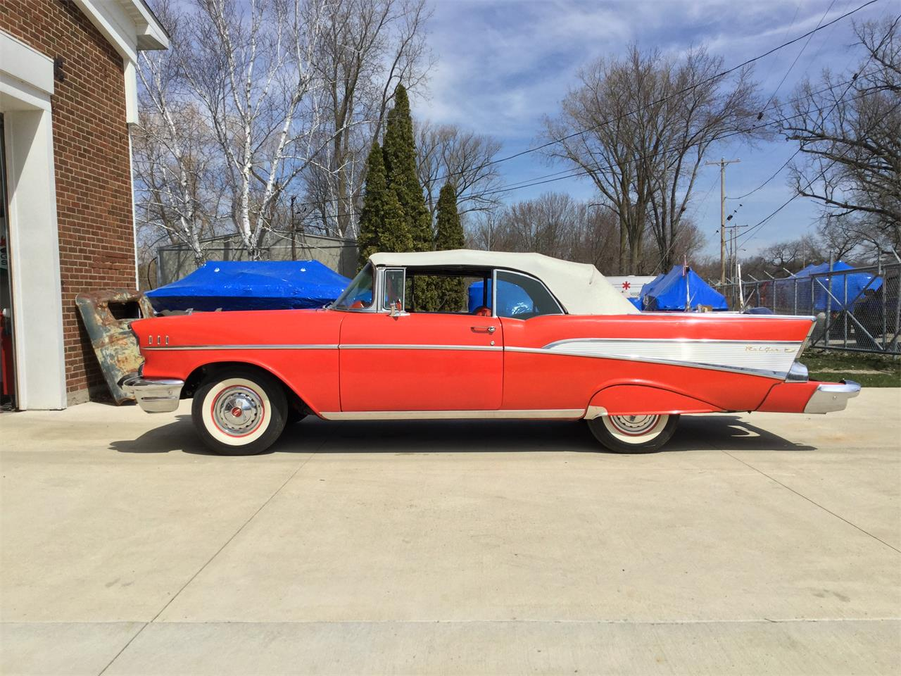 Large Picture of Classic '57 Chevrolet Bel Air - $49,000.00 Offered by Clarklake Classics - ND2A