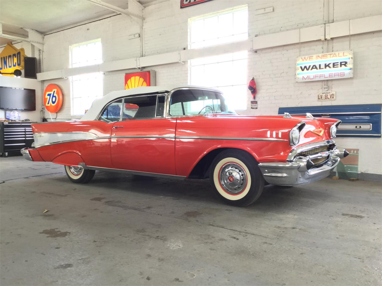 Large Picture of Classic 1957 Bel Air located in Michigan Offered by Clarklake Classics - ND2A