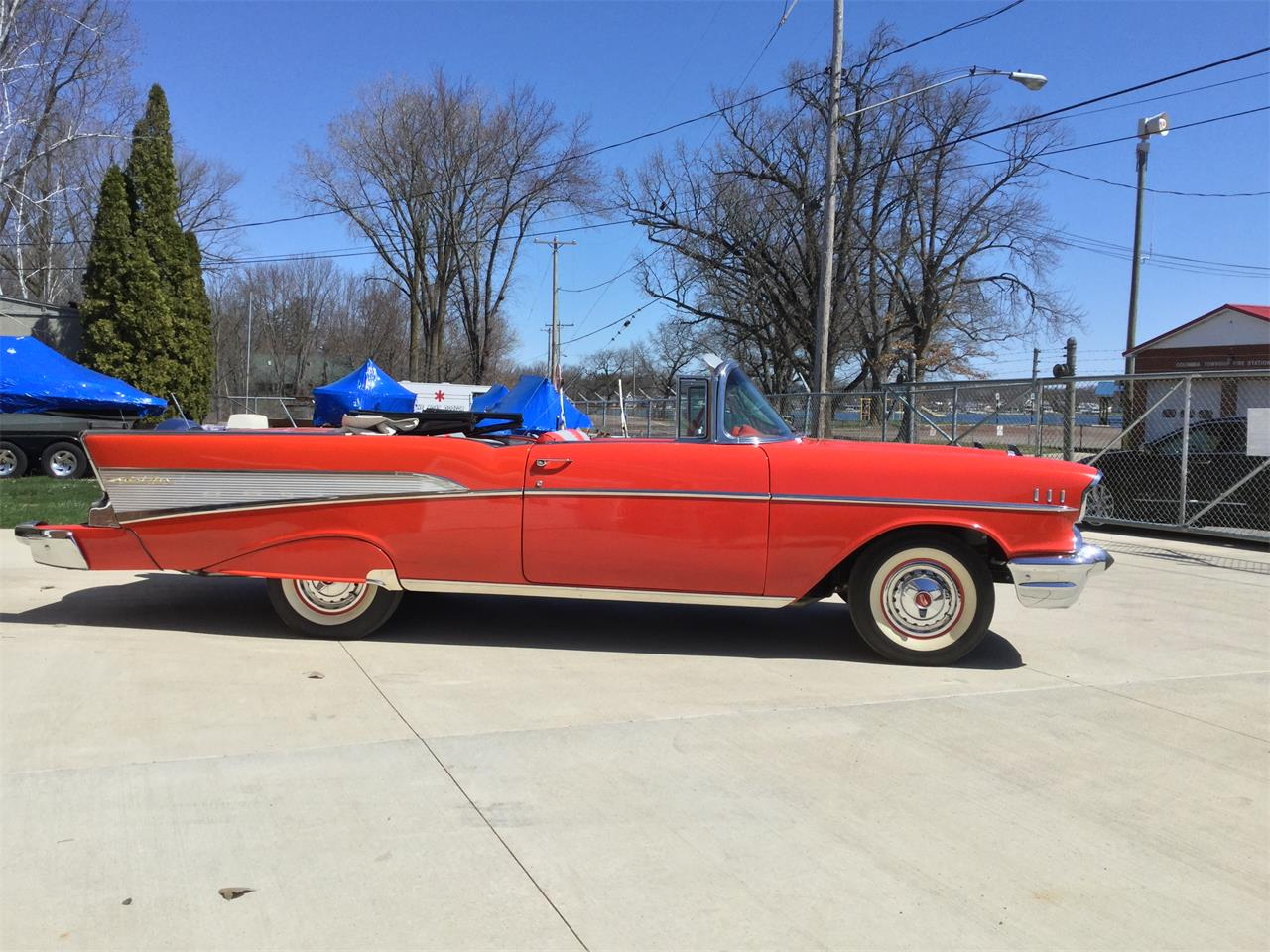 Large Picture of '57 Chevrolet Bel Air located in Michigan - $49,000.00 Offered by Clarklake Classics - ND2A