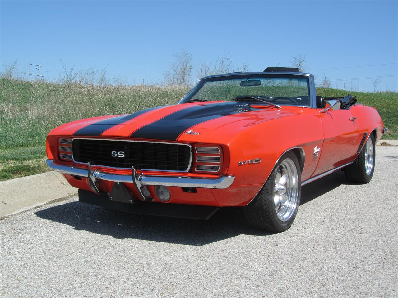 For Sale 1969 Chevrolet Camaro Rs Ss In Omaha Nebraska