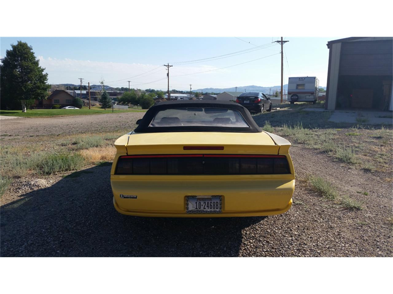 Large Picture of 1992 Pontiac Firebird Trans Am located in Wyoming - NEJ6