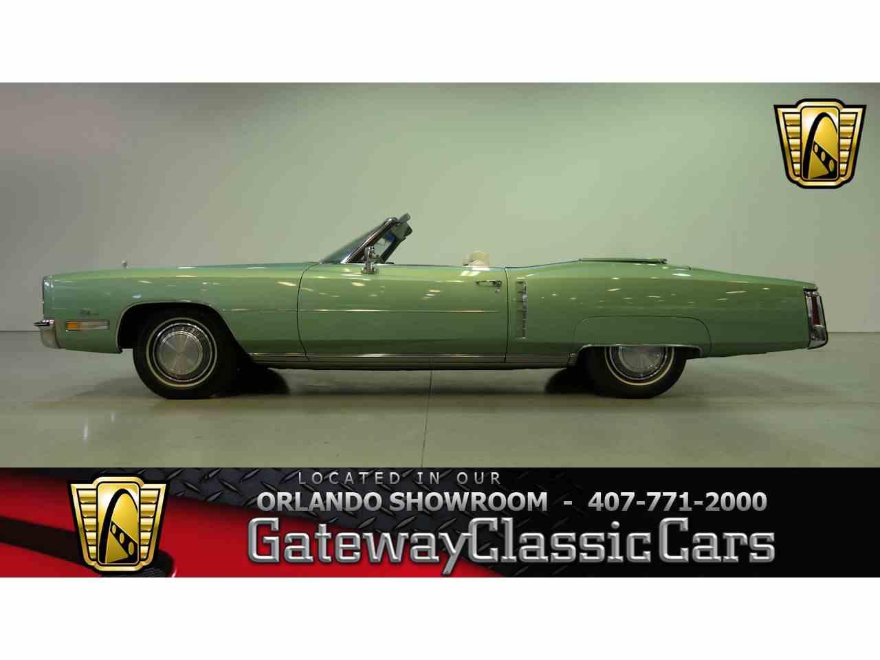 Large Picture of Classic 1972 Eldorado located in Florida - NEP5