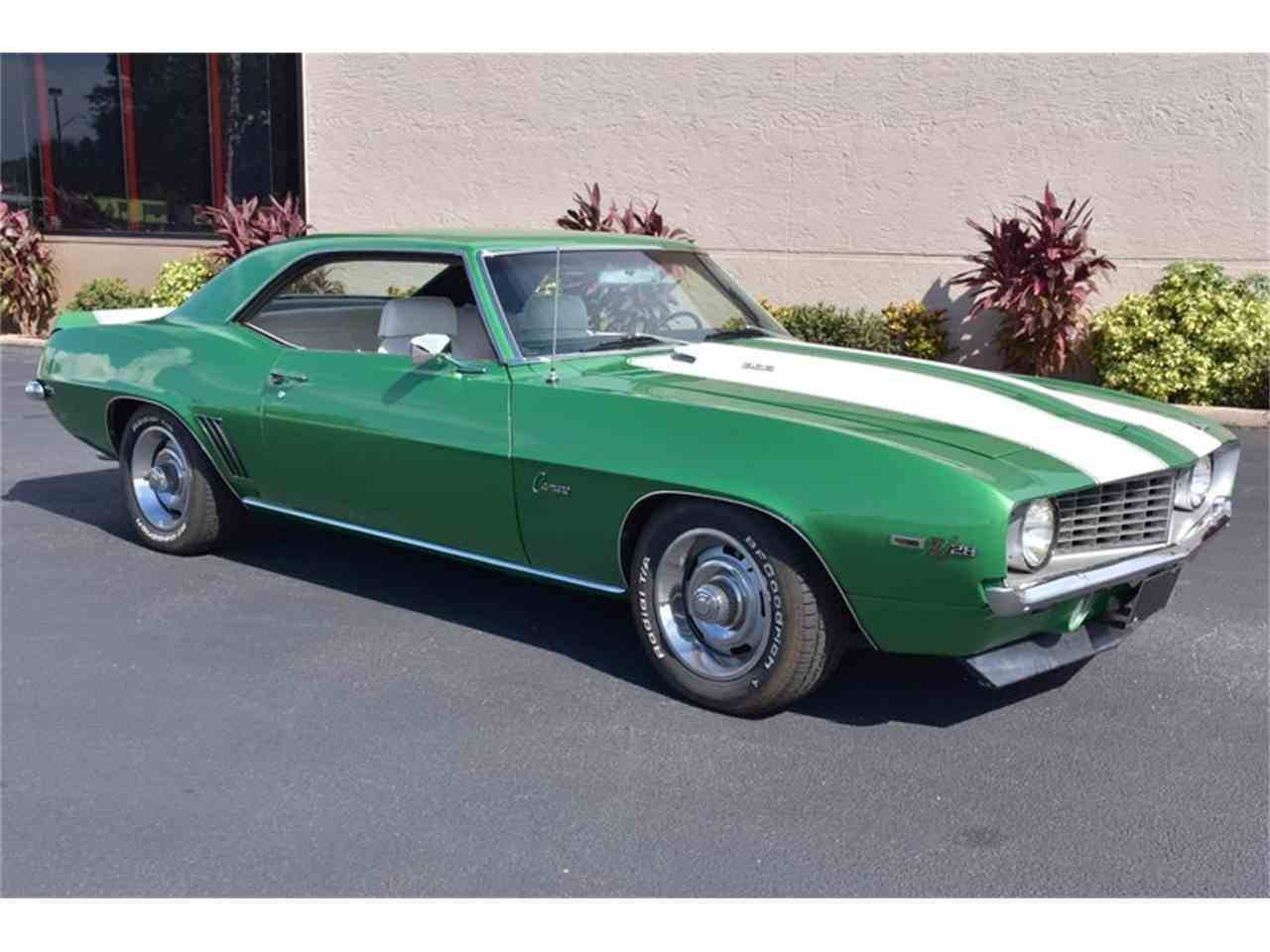 Large Picture of Classic 1969 Camaro Z28 Auction Vehicle - NF59