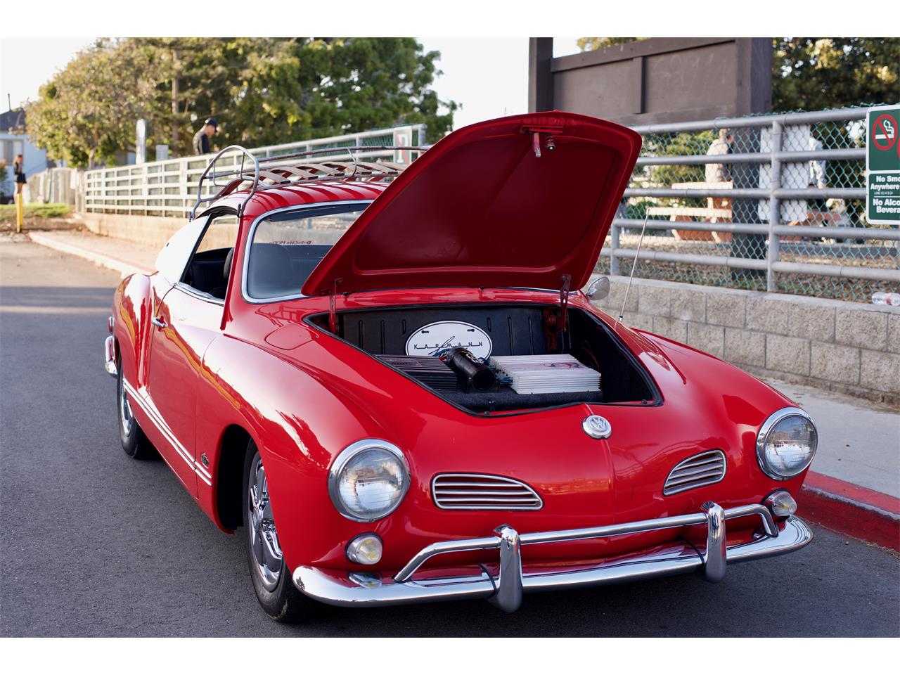Large Picture of Classic '69 Volkswagen Karmann Ghia located in California Offered by a Private Seller - NDA6