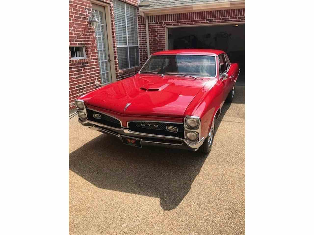 Large Picture of 1967 Pontiac GTO located in Florida - NFHO