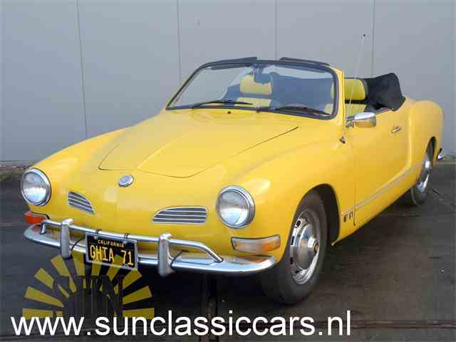 Picture of '71 Volkswagen Karmann Ghia located in Waalwijk Noord-Brabant - $19,100.00 Offered by  - NFK0