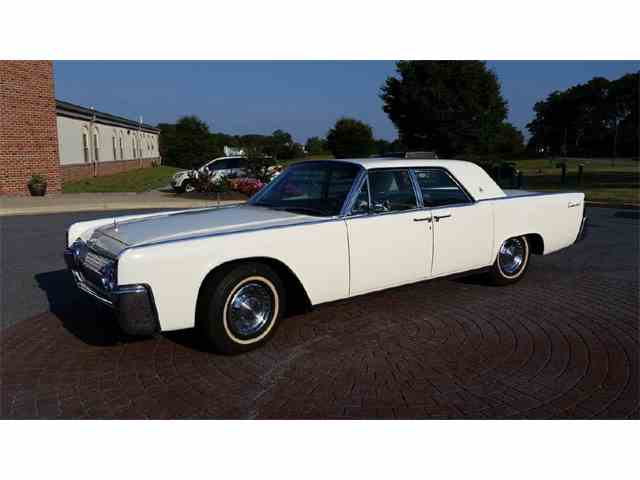 Picture of '63 Continental - NFPQ