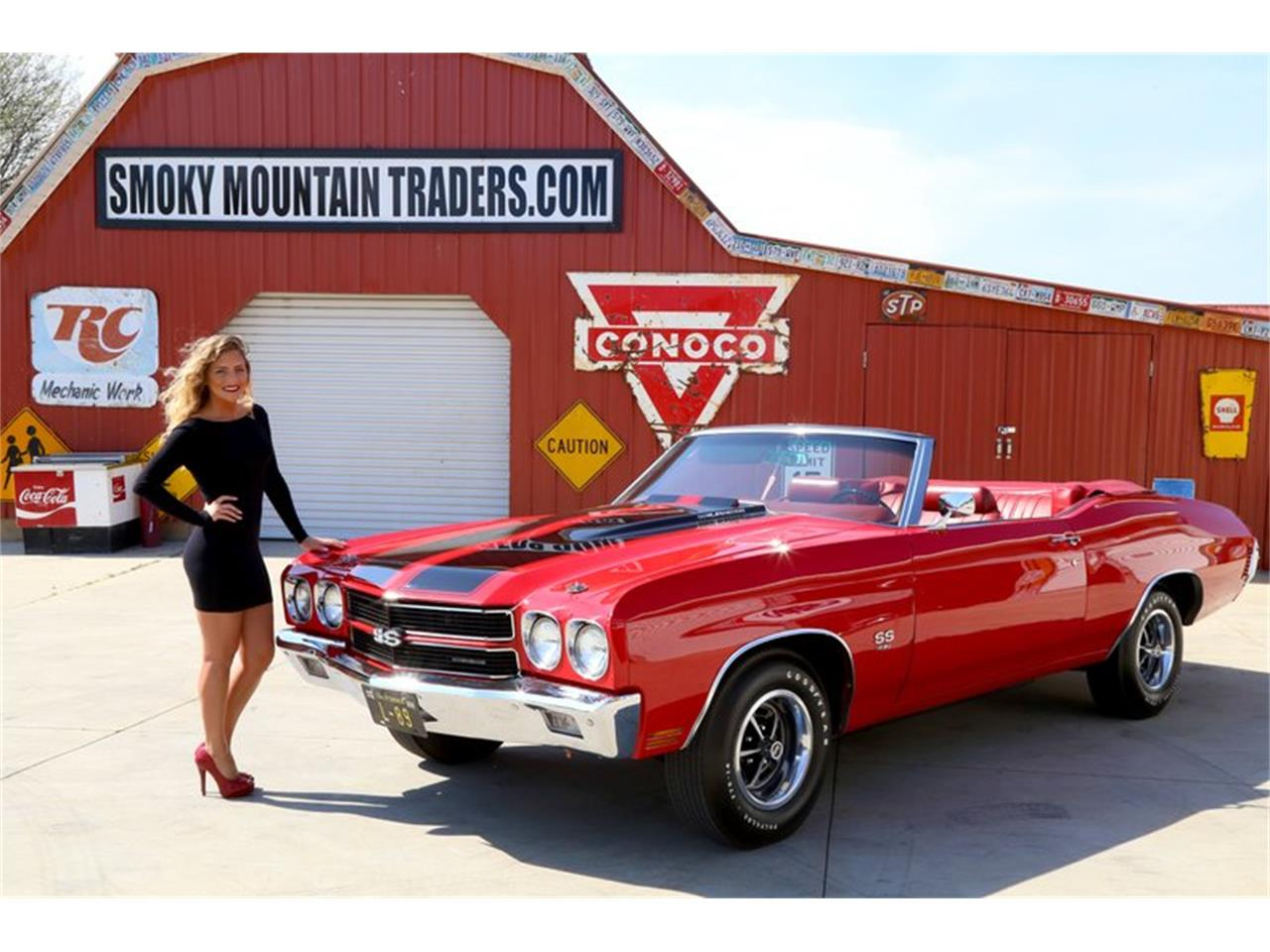 Large Picture of 1970 Chevrolet Chevelle Offered by Smoky Mountain Traders - NG03