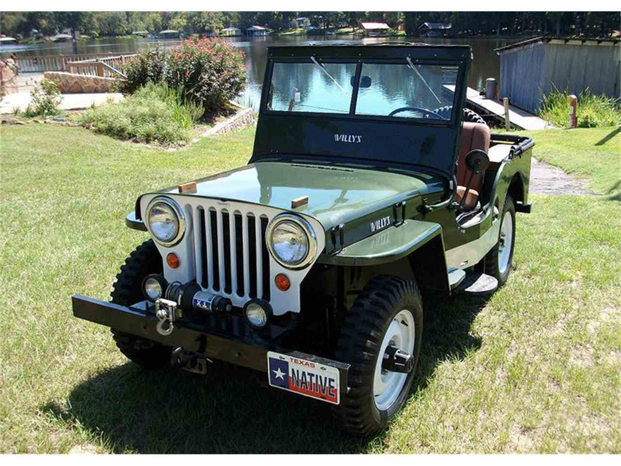 1948 willys jeep for sale cc 1093886. Black Bedroom Furniture Sets. Home Design Ideas