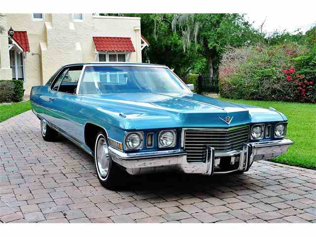 1972 Cadillac DeVille for Sale on ClicCars.com