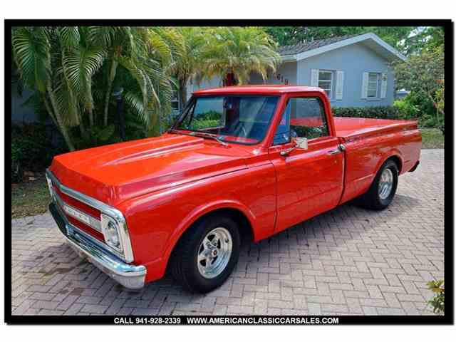 Picture of '69 Chevrolet Pickup - NGBQ