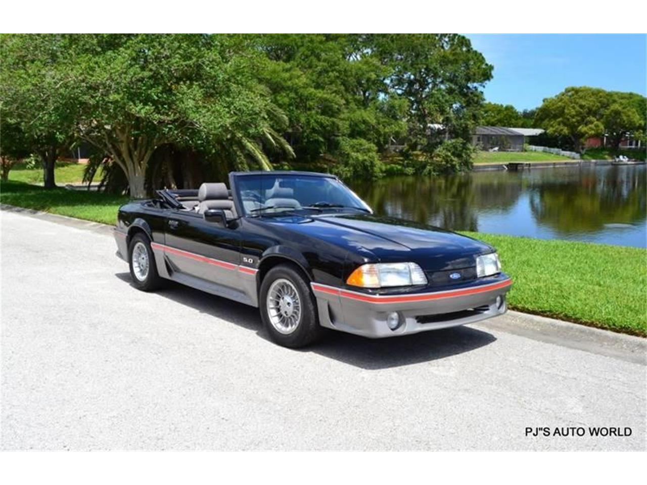 Large Picture of 1989 Mustang located in Clearwater Florida Offered by PJ's Auto World - NGI8