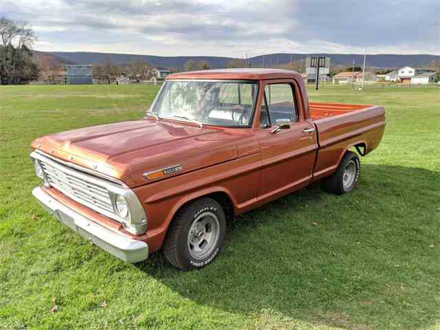 1969 Ford F100 For Sale On Classiccars Com