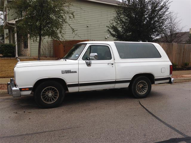 Picture of '89 Ramcharger - NGYU