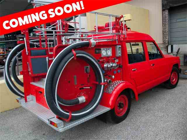 Picture of 1986 Nissan Safari Fire Truck located in Missouri Auction Vehicle - NH0M