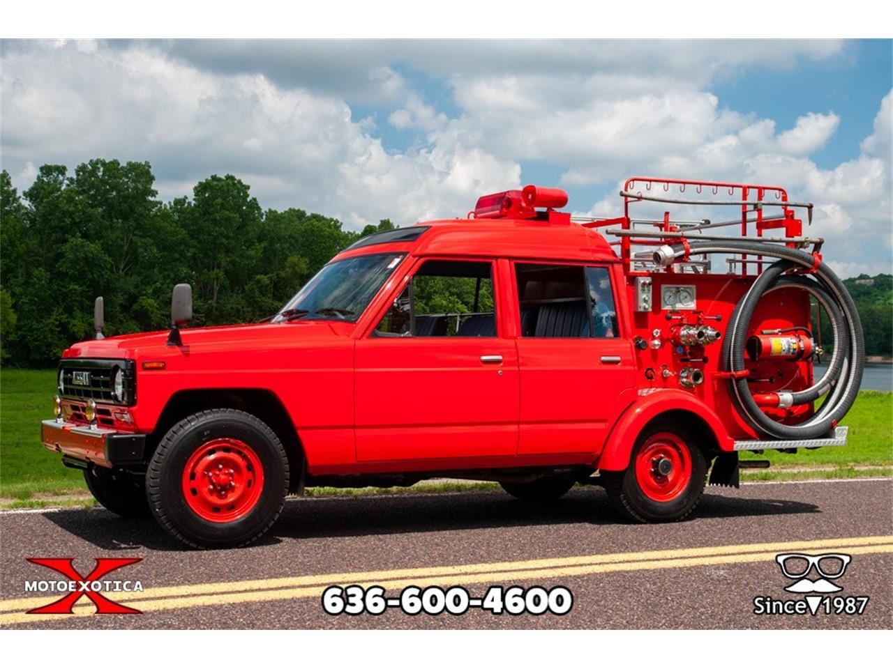 Large Picture of '86 Safari Fire Truck - NH0M