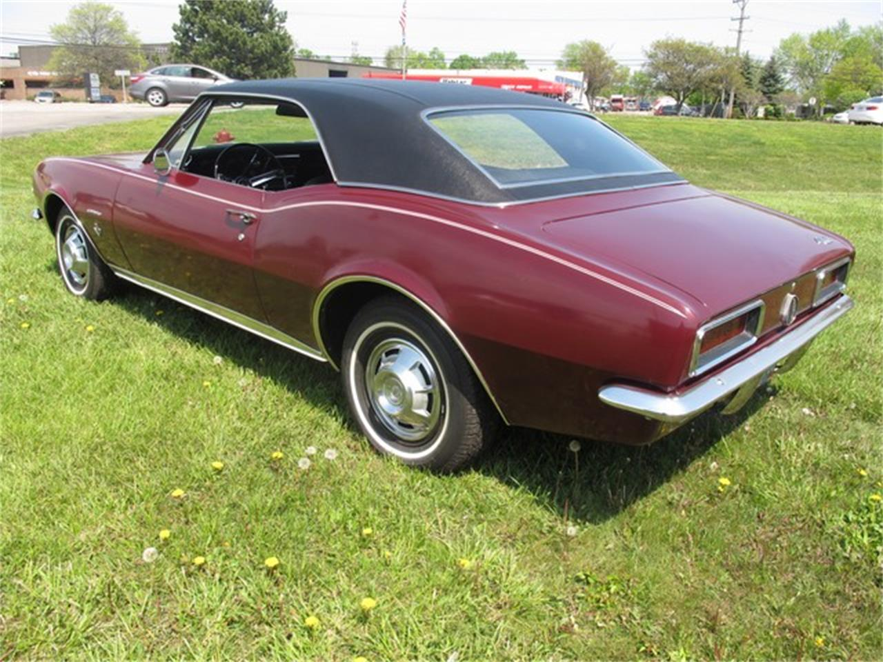 Large Picture of Classic 1967 Chevrolet Camaro located in Troy Michigan - $34,500.00 Offered by Classic Auto Showplace - NH2Z