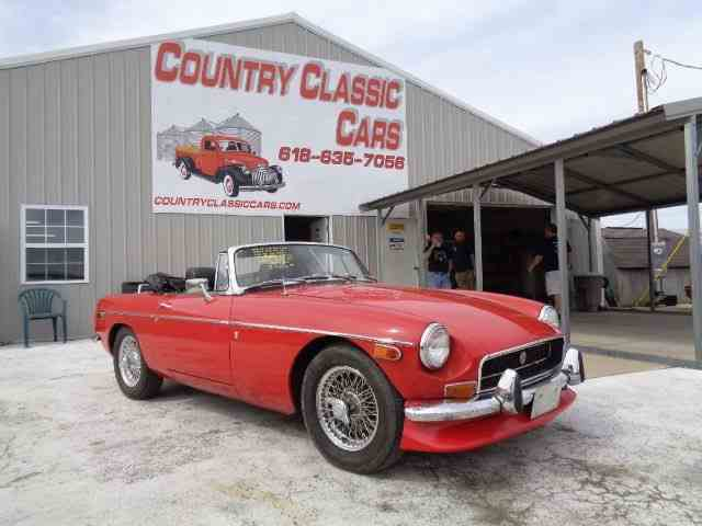 Picture of '72 MGB - NDGP