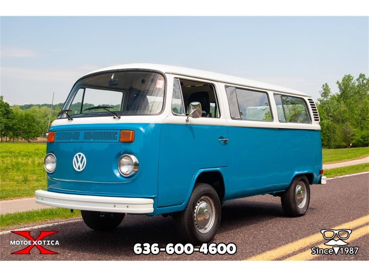 1977 Volkswagen Bus For Sale Classiccars Com Cc 1095529