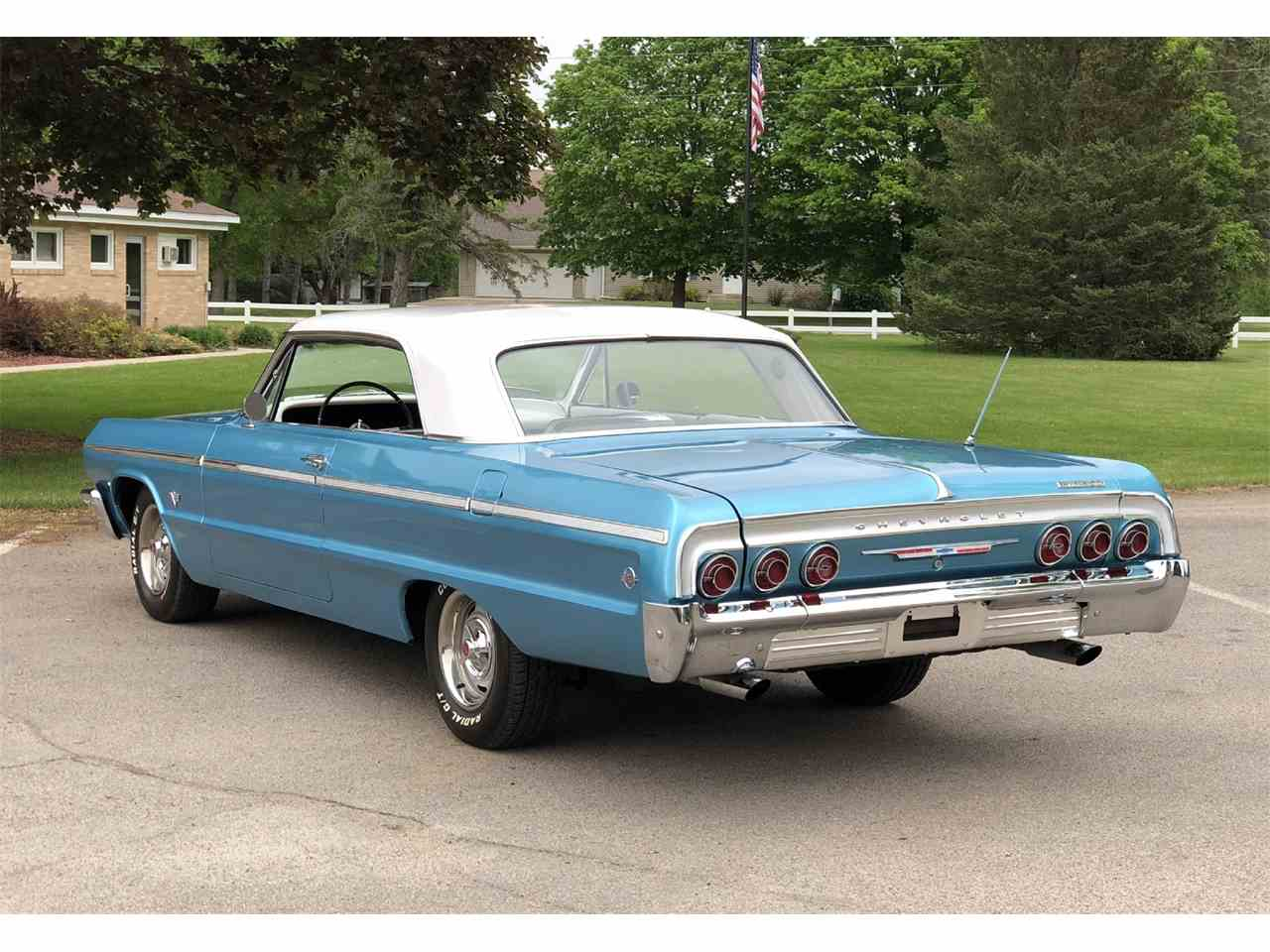 1964 chevrolet impala ss for sale cc 1095677. Black Bedroom Furniture Sets. Home Design Ideas