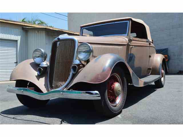 Picture of '34 Cabriolet - NHIH