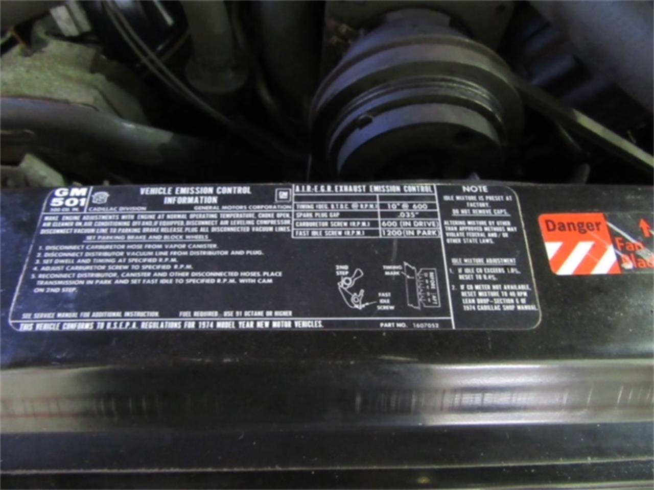 Large Picture of '74 Cadillac Eldorado Auction Vehicle - NHIV