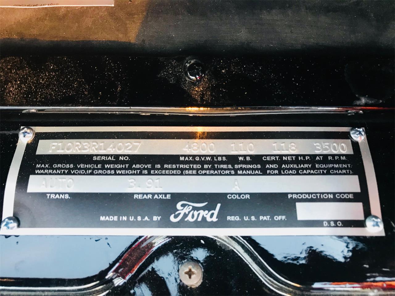 Large Picture of '53 F100 - NDI7