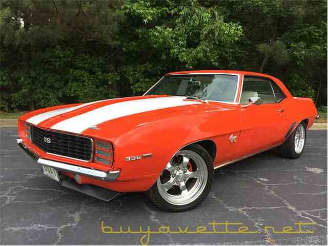 1969 Chevrolet Camaro For Sale On Classiccars Com