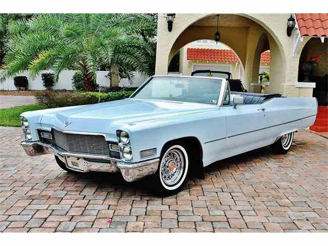 Picture of Classic 1968 Cadillac DeVille - $29,000.00 Offered by  - NHNA