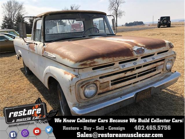 Picture of 1962 F100 located in Nebraska - NI0E