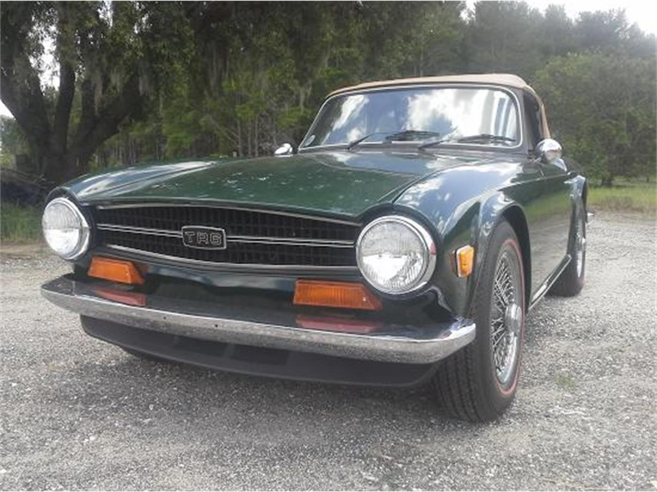 Large Picture of '72 TR6 - NI0Y