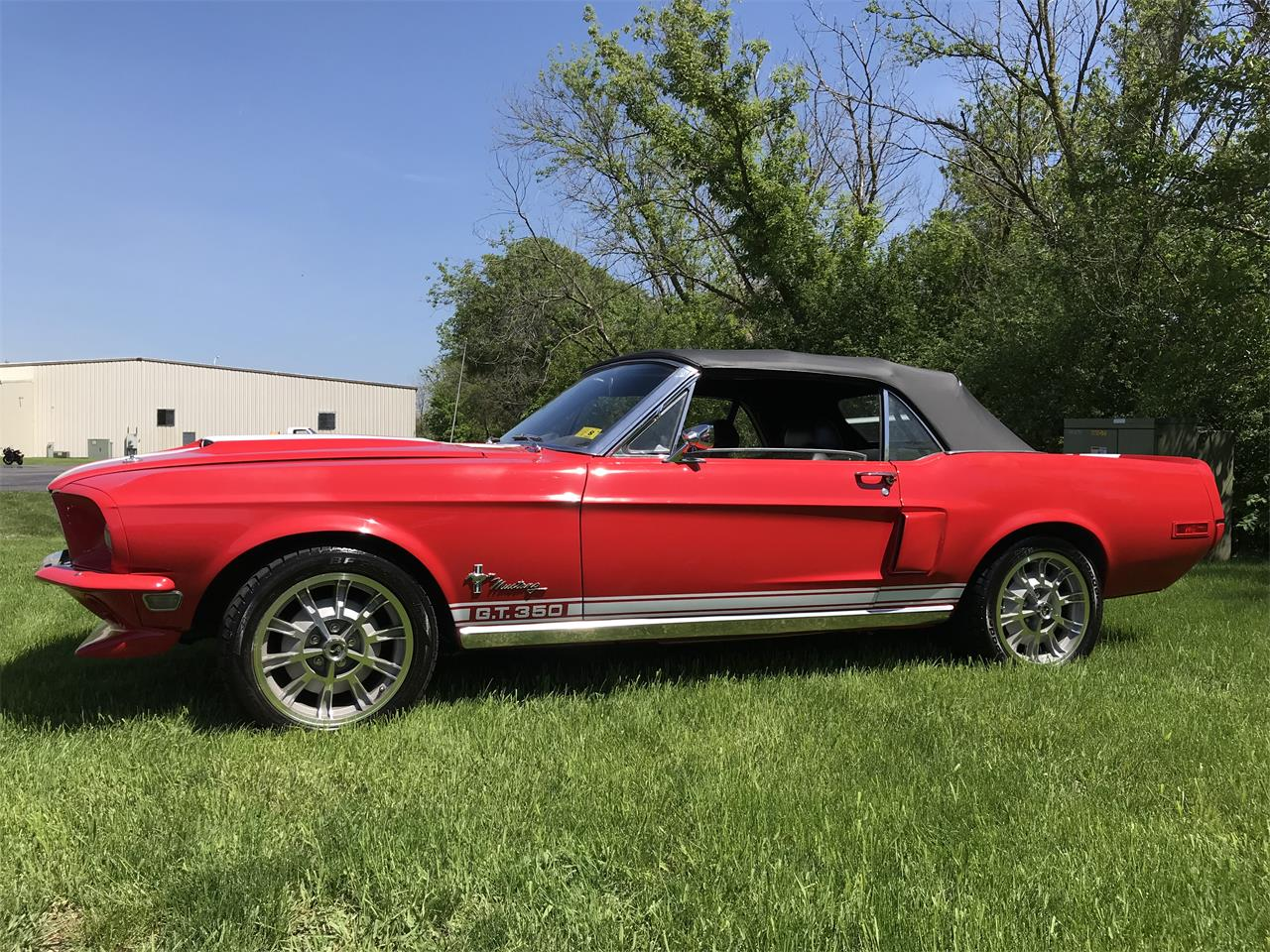 Large Picture of '68 Mustang - NI25