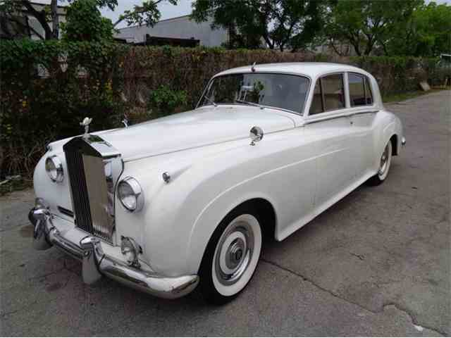 1961 rolls royce silver cloud ii for sale cc 653192. Black Bedroom Furniture Sets. Home Design Ideas