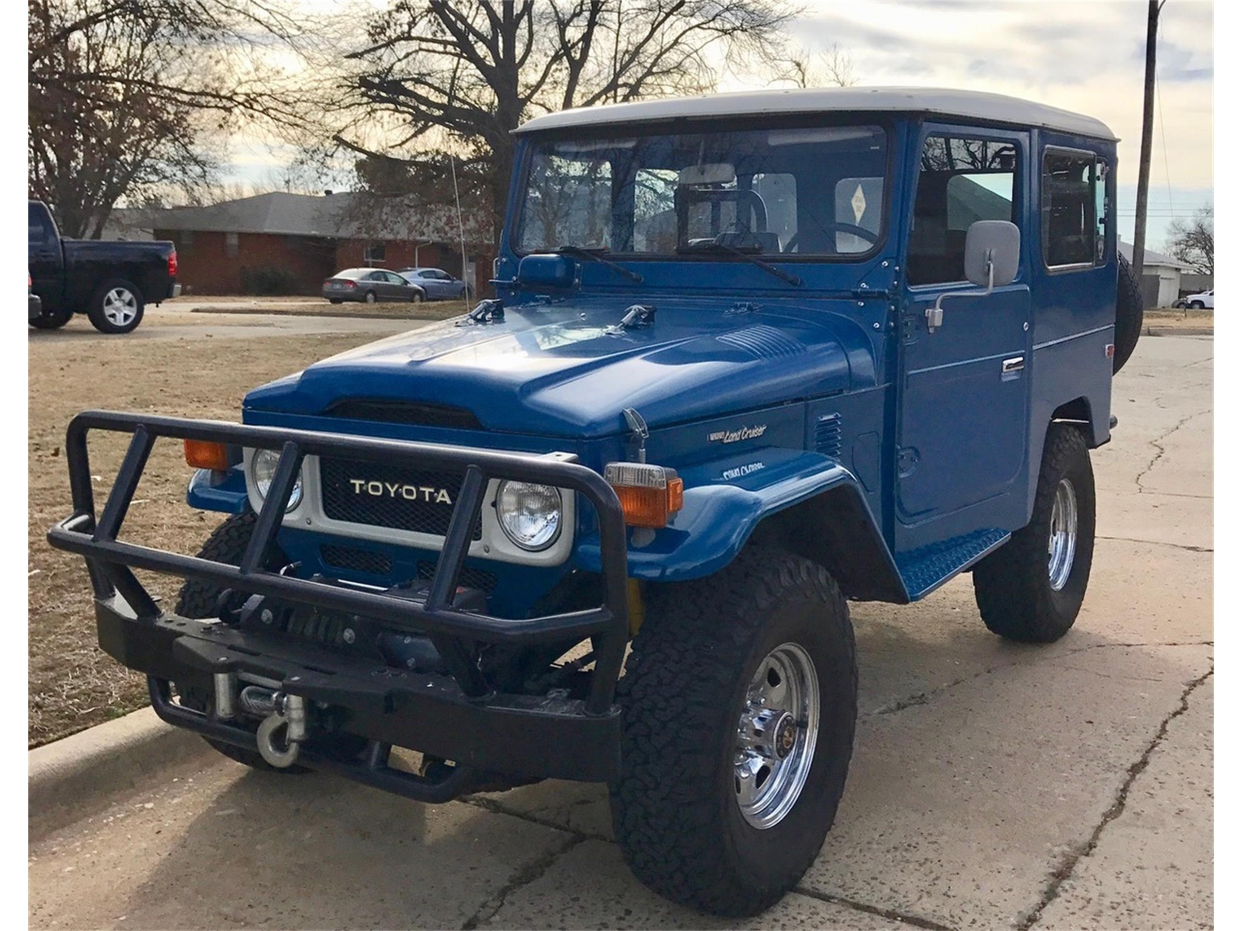 1983 Toyota Land Cruiser Fj60 For Sale Half Pencil Large Picture Of 83 Fj40 Ni6y