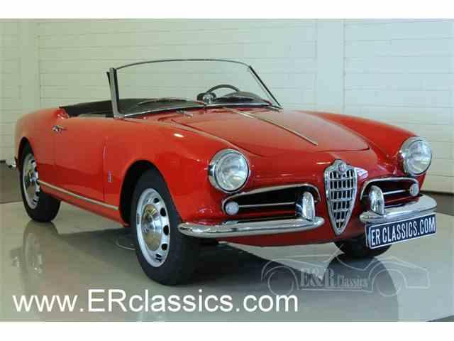 Picture of '56 Alfa Romeo Giulietta Spider Offered by  - NI8M