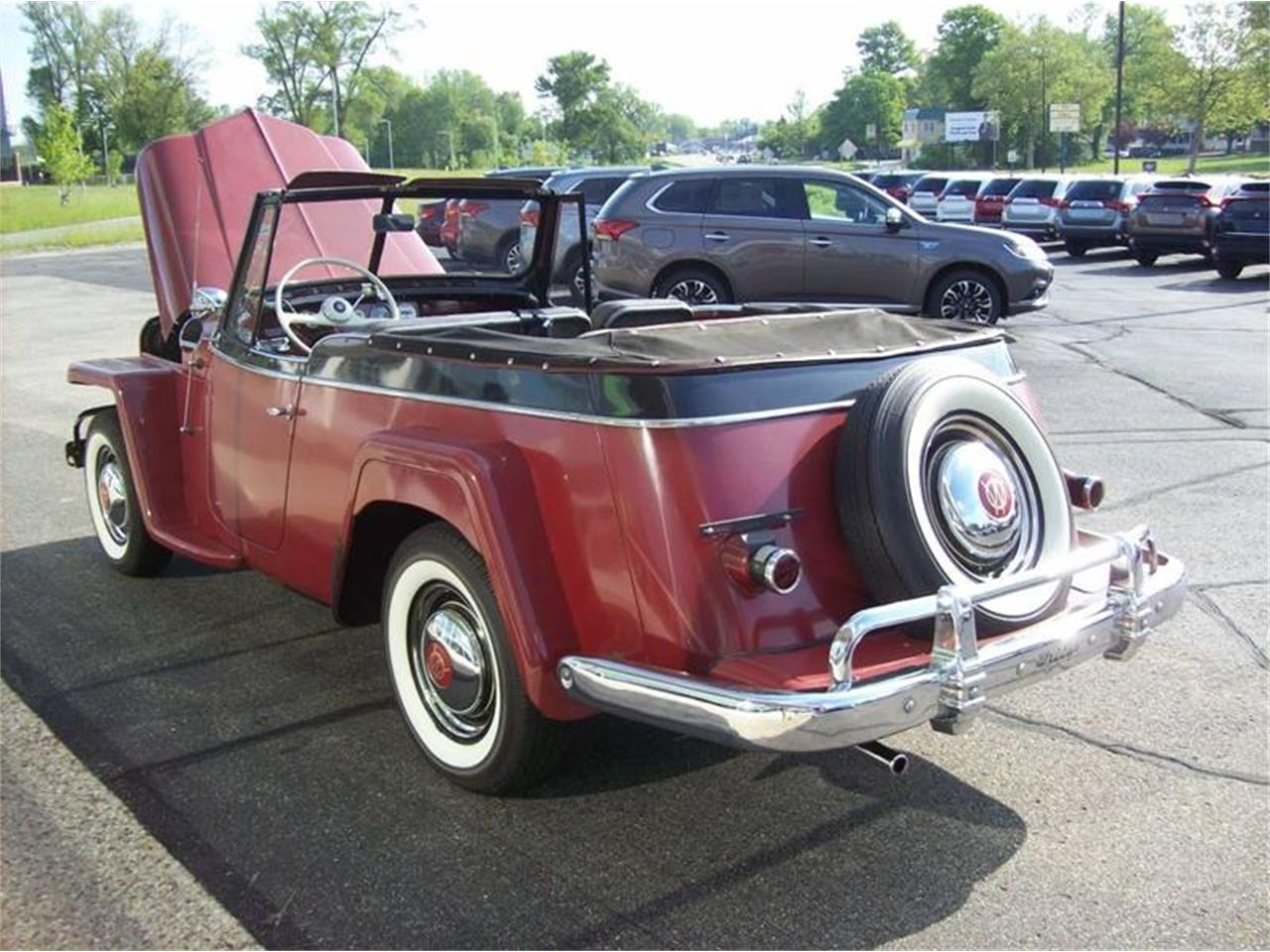 Large Picture of Classic '51 Willys Jeepster located in Michigan - $20,900.00 - NI8U